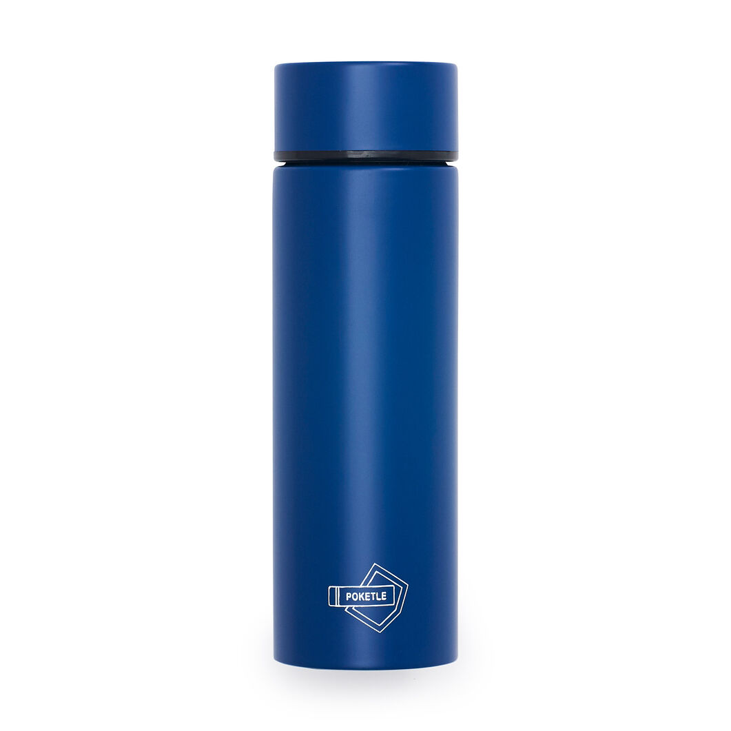 Poketle Pocket-Sized Insulated Tumbler in color Navy
