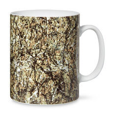 Jackson Pollock Mug in color