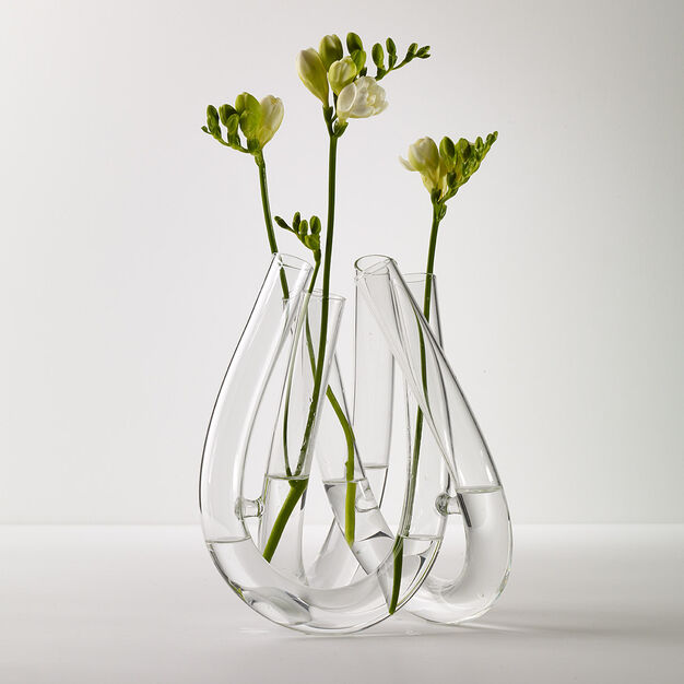 Triu Glass Vase in color