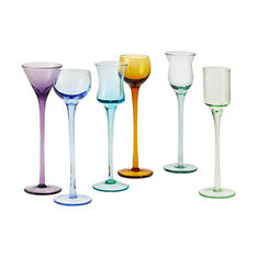 Long Stem Cordial Set in color