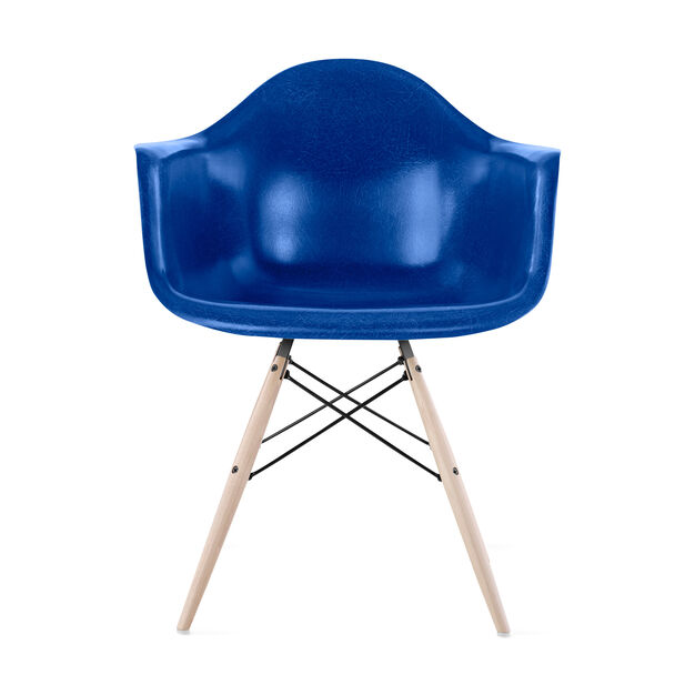 Eames DFAW Armchair  Ultramarine Blue in color