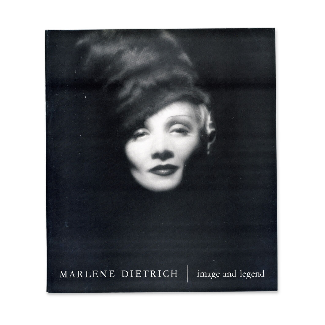 Marlene Dietrich: Image and Legend - Paperback in color