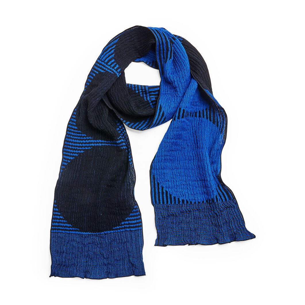 Big Ring Wool Scarf in color