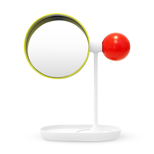 Colorful Ball Vanity Mirror in color Yellow