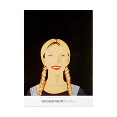 Alex Katz: Jessica Smiles Poster in color