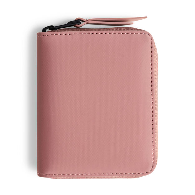 Rains Small Vegan Waterproof Wallet in color Blush