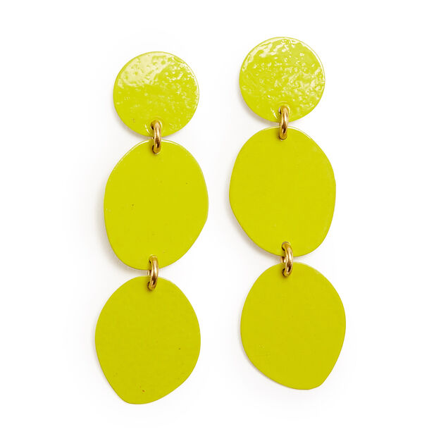 Sibilia 3 Pebbles Earrings in color