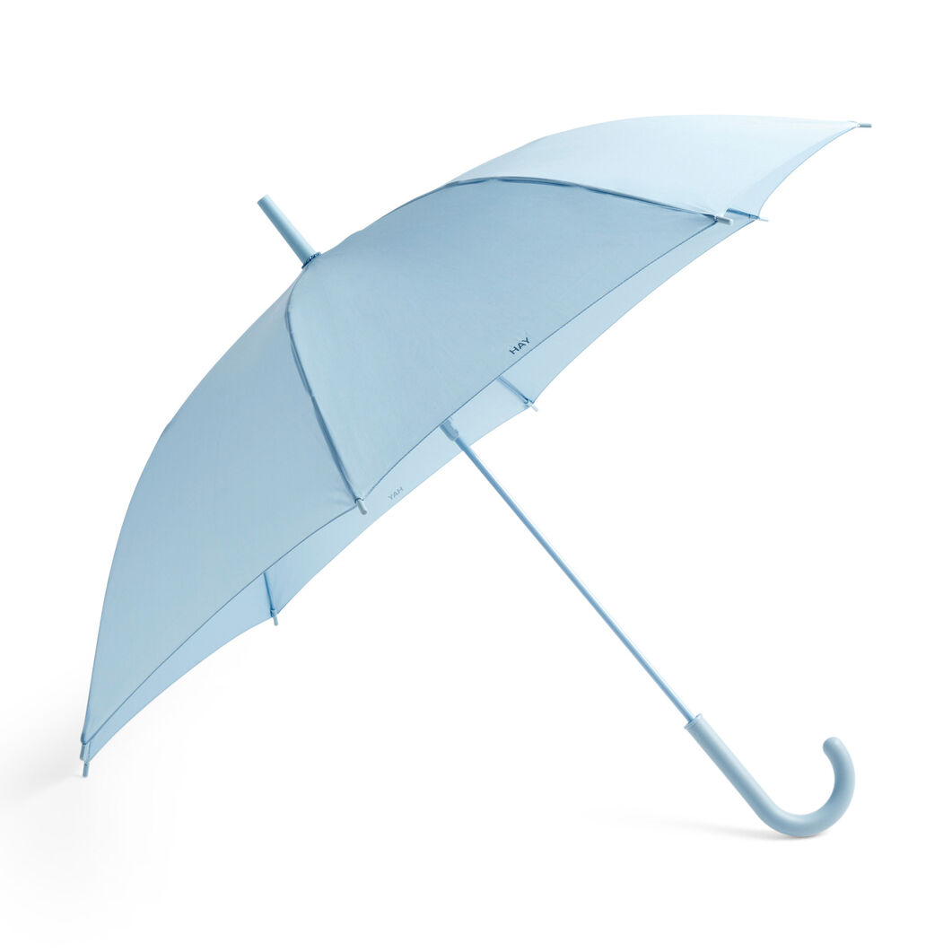 HAY Mono Umbrella in color Light Blue