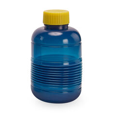 Squeasy Water Bottle in color Dark Blue/ Dark Yellow