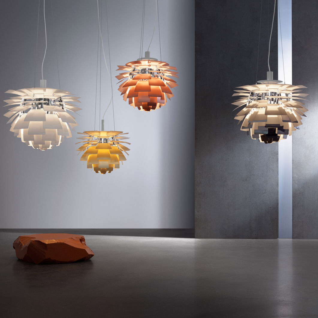 PH Artichoke Pendant Lamp in color
