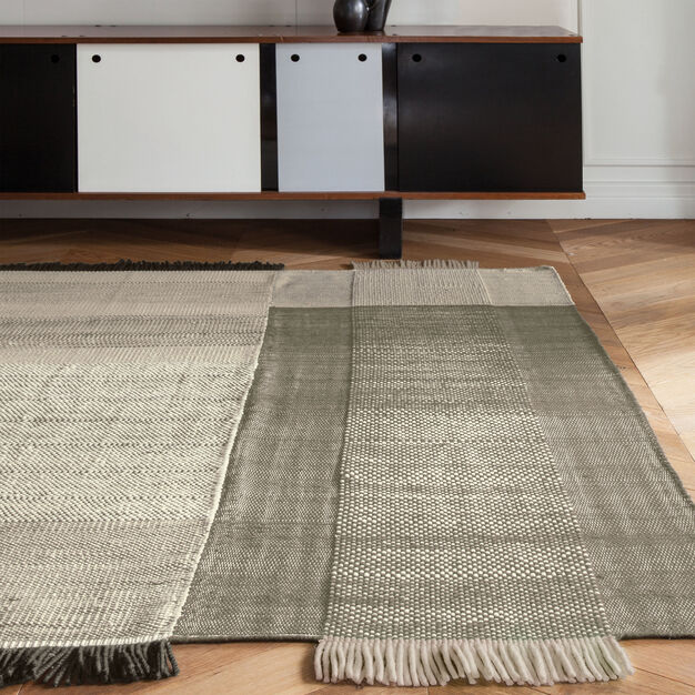 Nanimarquina Tres Rug in color Pearl