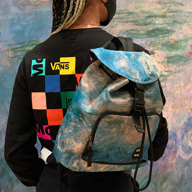 MoMA and Vans Claude Monet Backpack in color