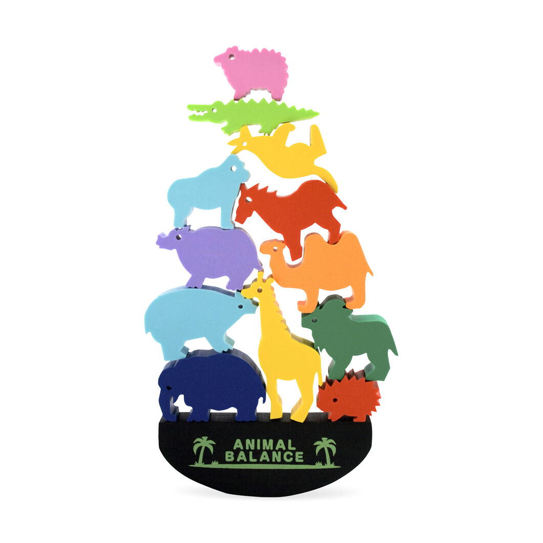 Animal Balance Erasers in color