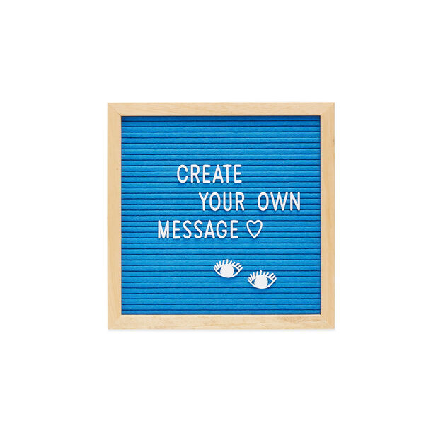 Small Letter Board in color