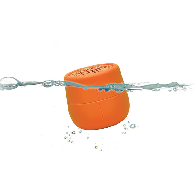 Lexon Mino X Waterproof Speaker in color Orange