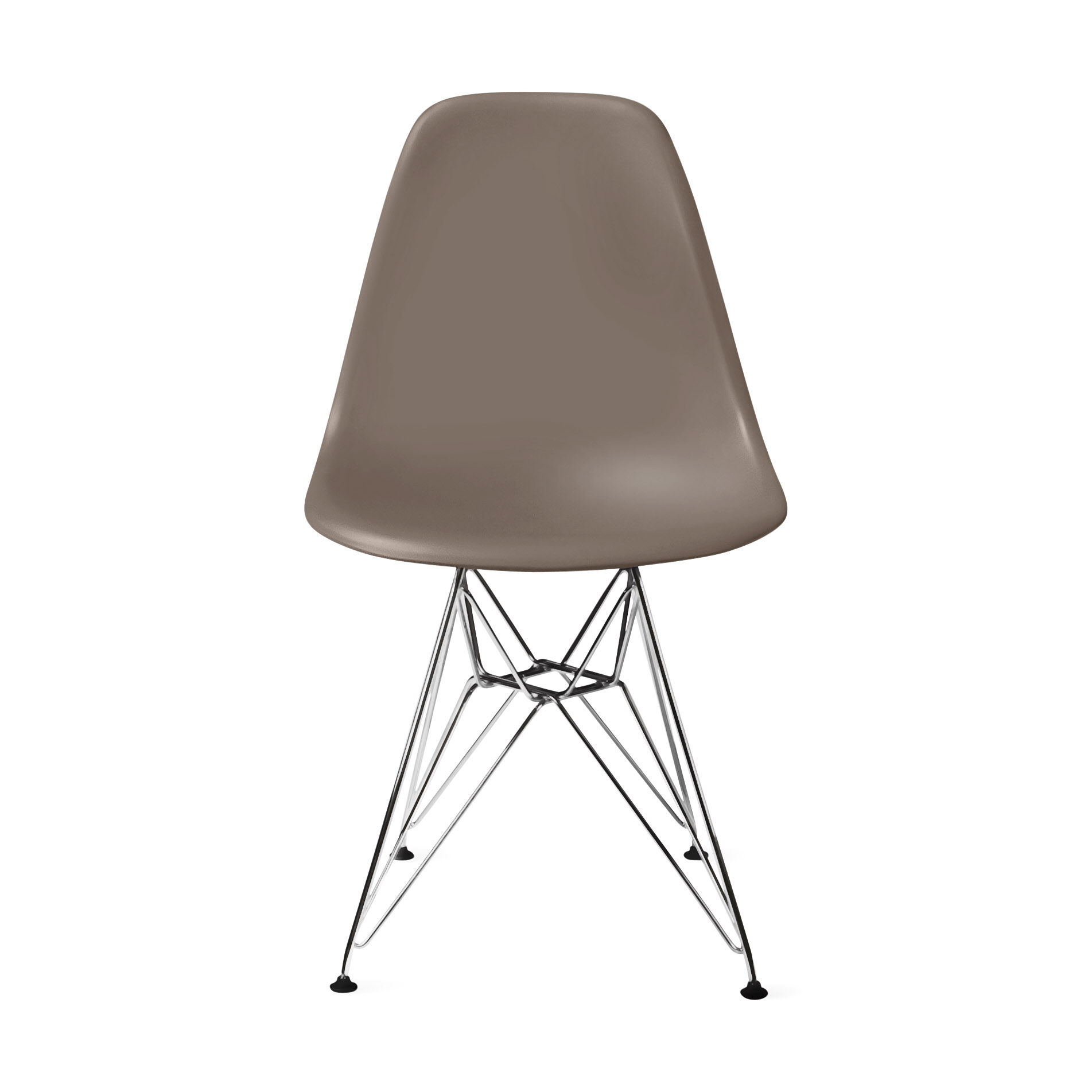 Eamesu0026reg; Molded Plastic Side Chair With Wire Base U0026#40 ...