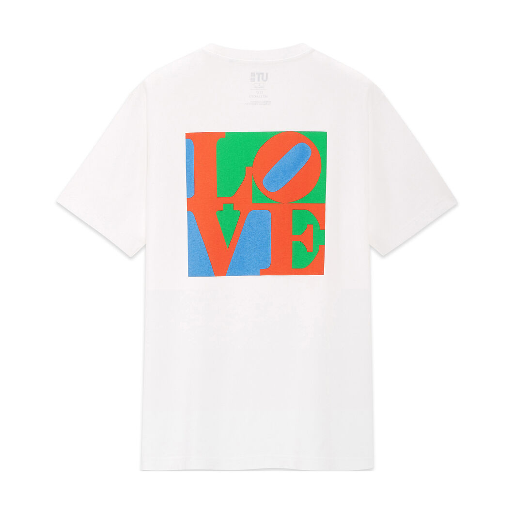 UNIQLO Robert Indiana Love T-Shirt in color White