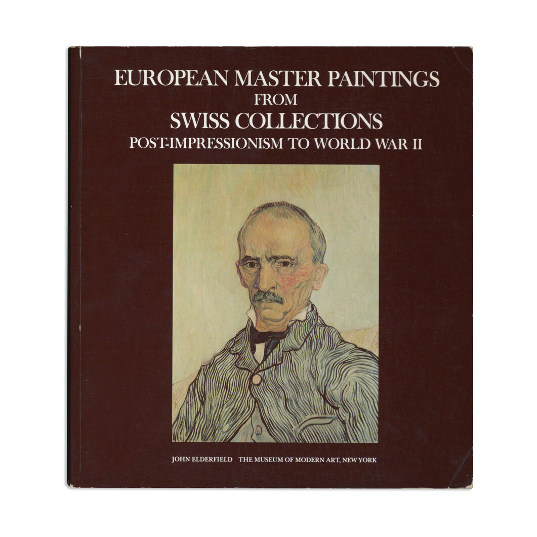 European Master Paintings from Swiss Collections: Post-Impressionism to World War II - Paperback in color