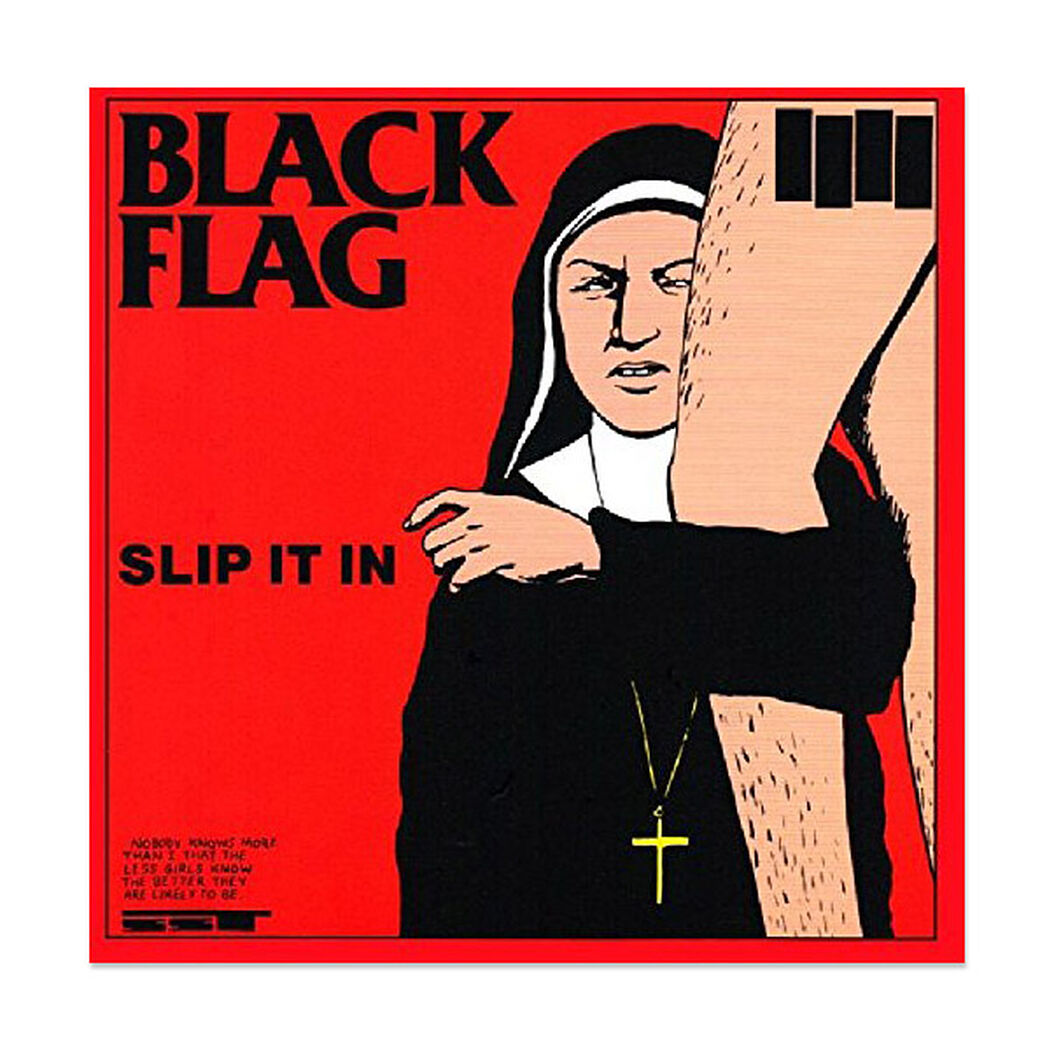 Black Flag: Slip It In Vinyl Record in color