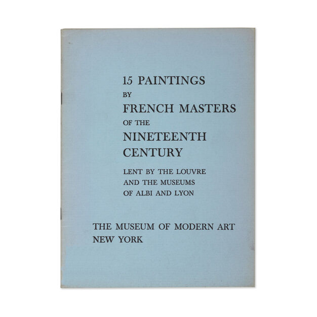 15 Paintings by French Masters of the Nineteenth Century - Paperback in color