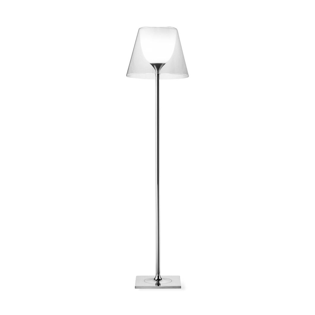 Ktribe F2 Halogen Floor Lamp in color Transparent