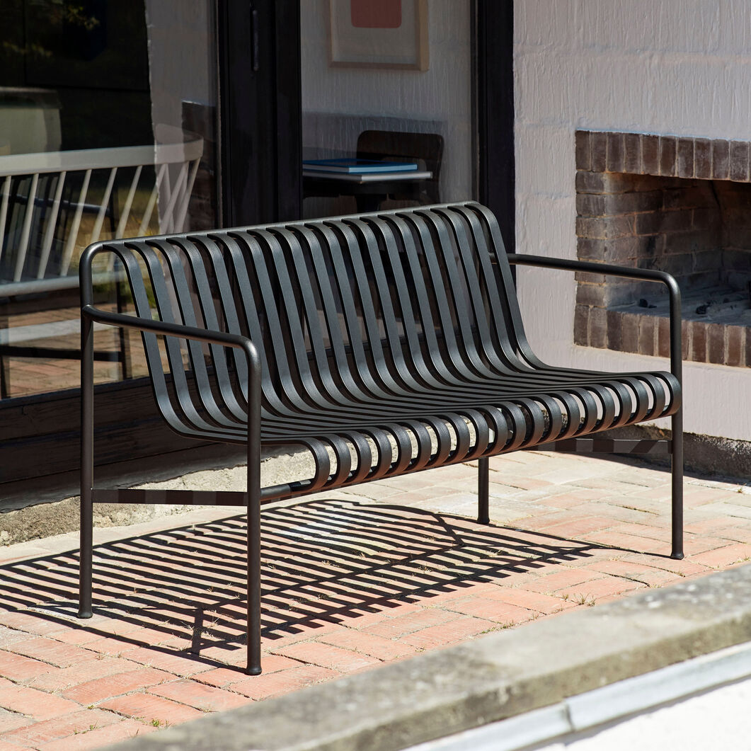 HAY Palissade Outdoor Dining Bench in color