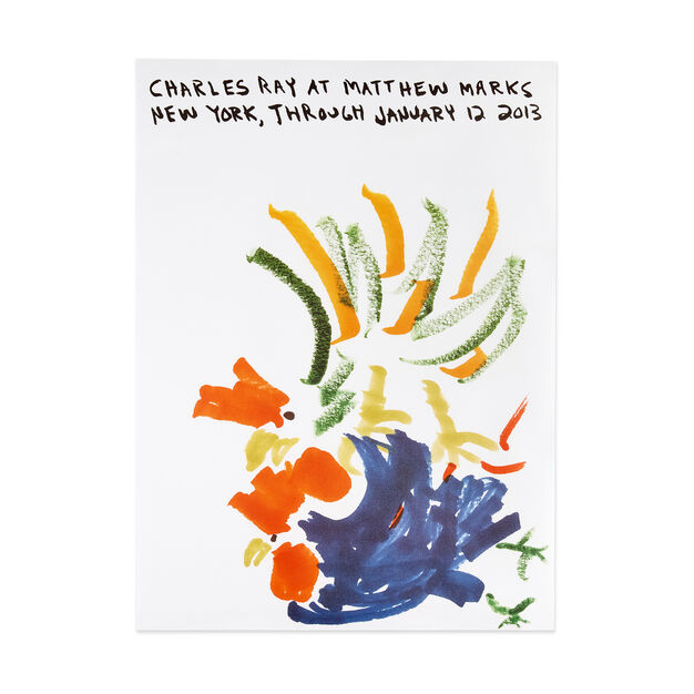 Charles Ray: Untitled Poster in color
