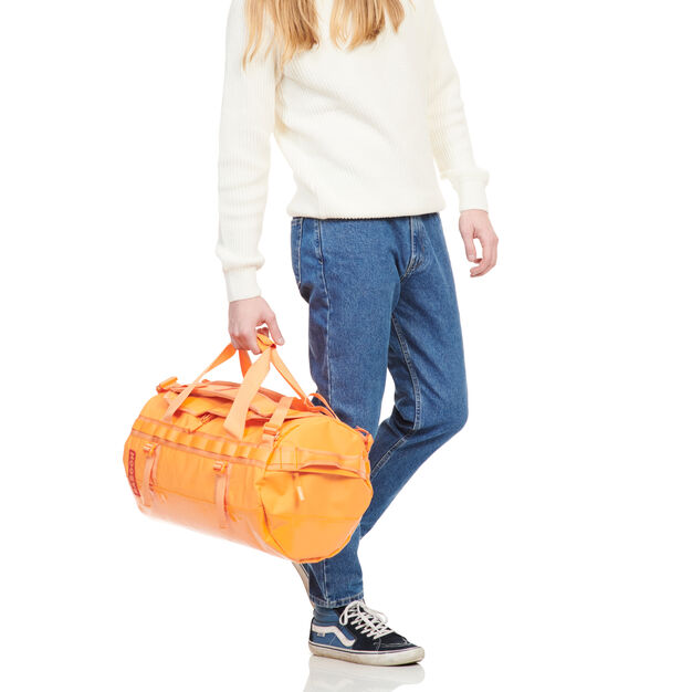 Baboon to the Moon Carry-On Duffle Bag in color Orange