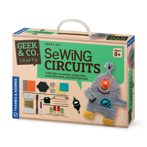 Sewing Circuits in color