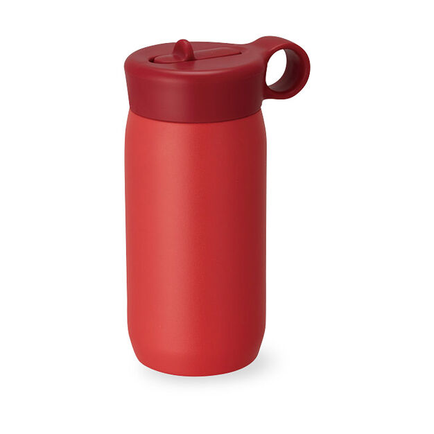 Kinto Water Bottle for Kids in color Red