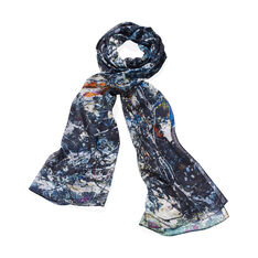 Pollock Fathom Scarf in color