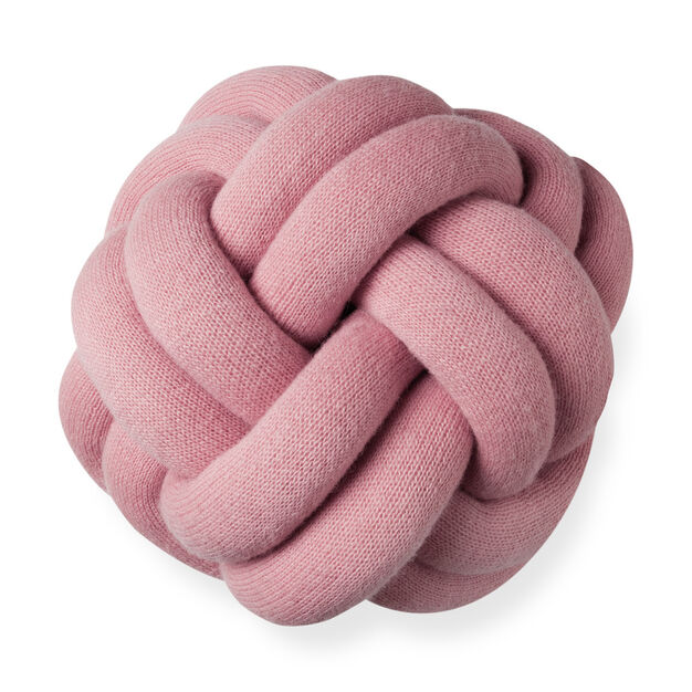 Knot Cushion in color Pink