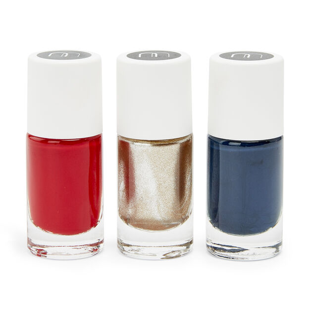 Nailmatic Nail Polish Set Redgoldblue Moma Design Store Moma