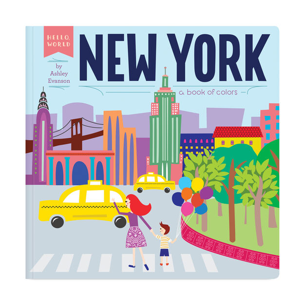 New York: A Book of Colors in color