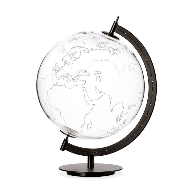 Mod Glass Globe - Earth in color