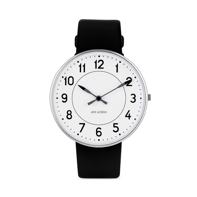 Arne Jacobsen Station Watch in color