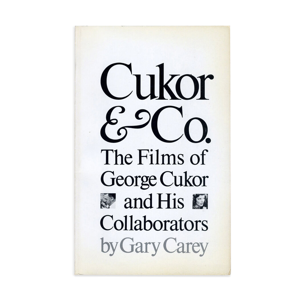 Cukor Co: The Films of George Cukor and His Collaborators - Paperback in color