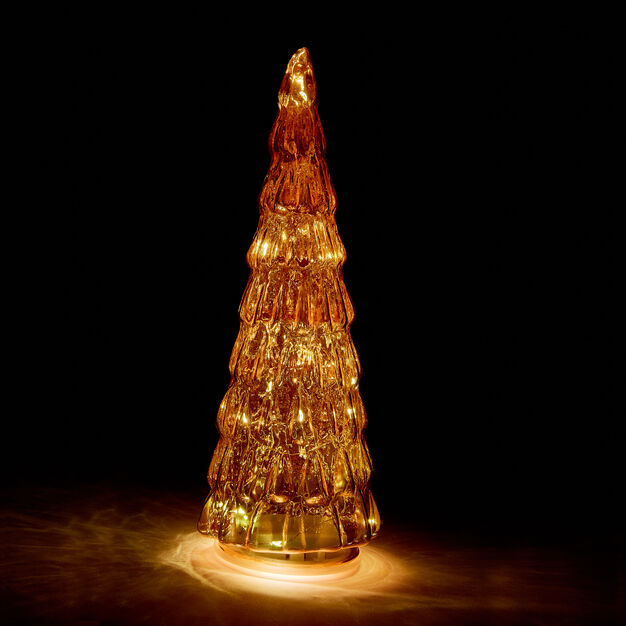 LED Lighted Trees in color Amber