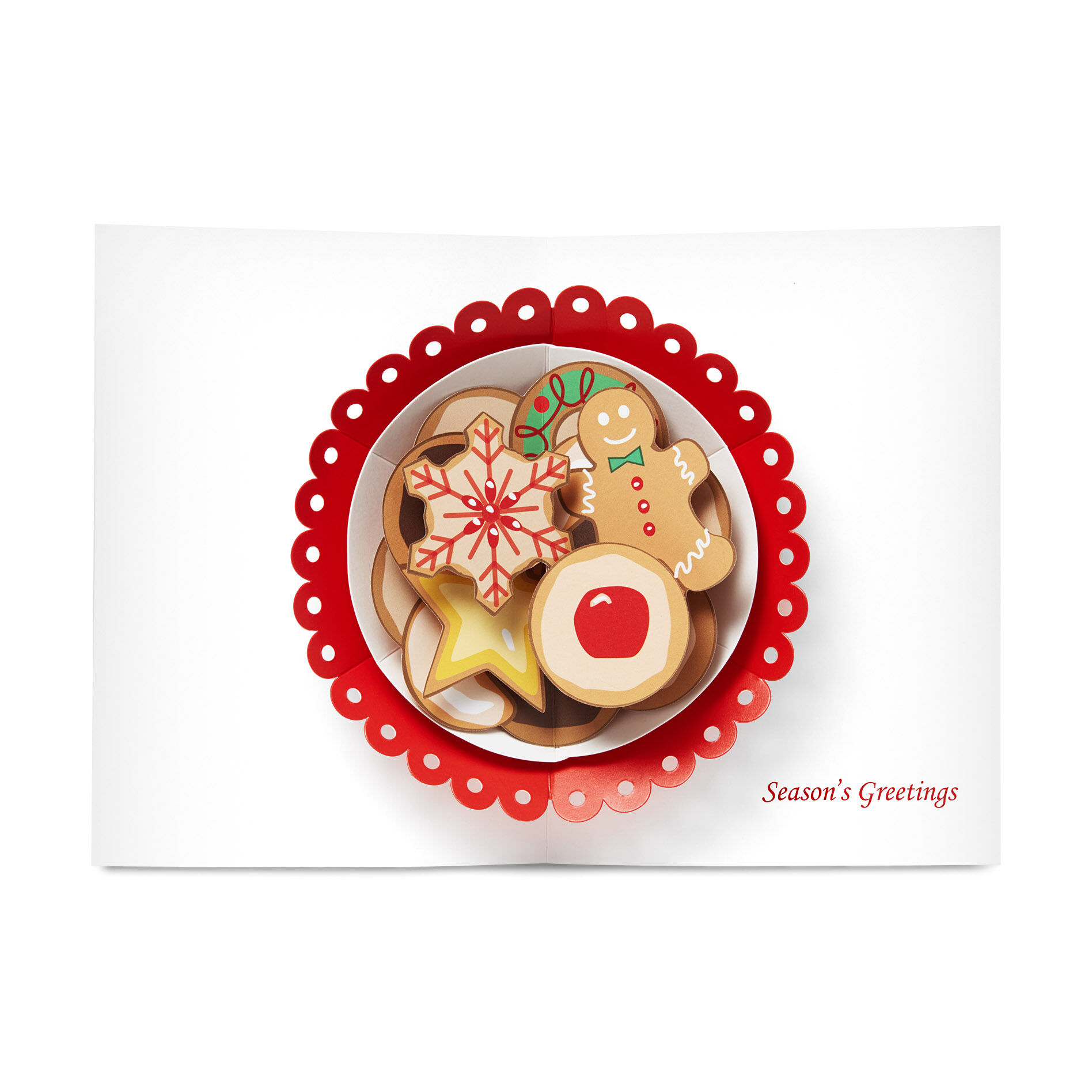 Christmas Cookies Holiday Cards In Color