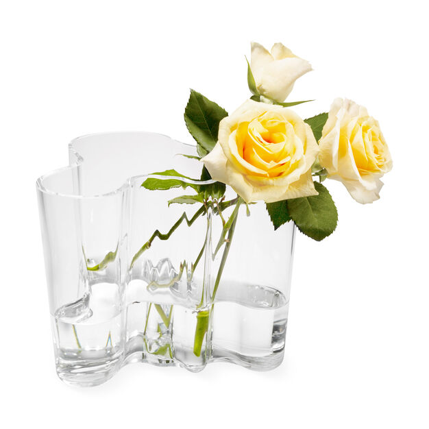Clear Aalto Vase in color Transparent