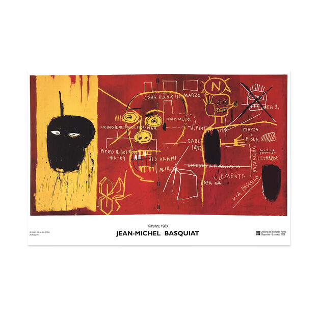 Jean-Michel Basquiat: Florence Poster in color