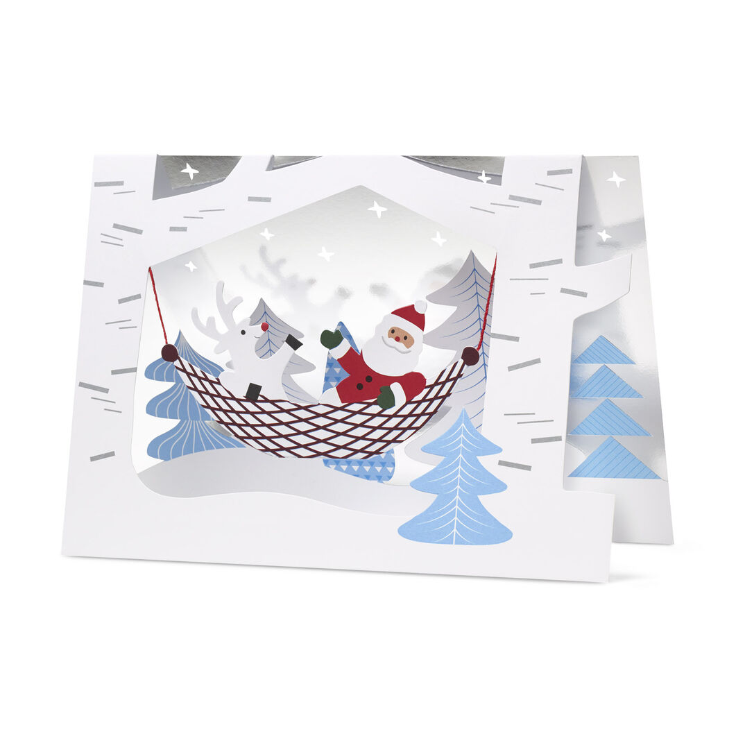 Santa's Buddy Holiday Cards (Box of 8) in color