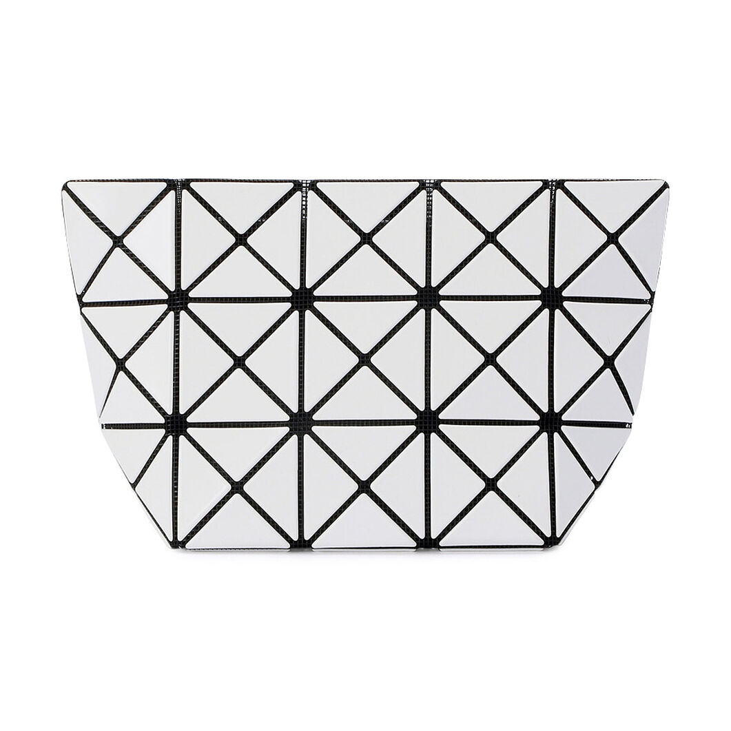 BAO BAO ISSEY MIYAKE Prism Pouch in color White