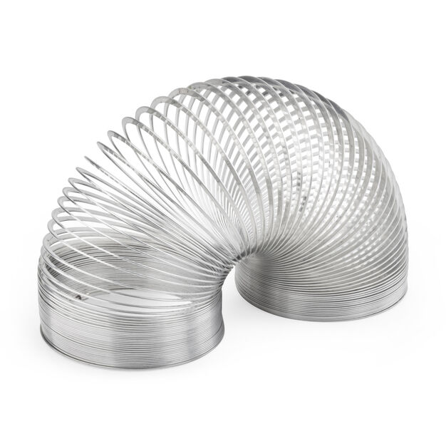 Original Metal Slinky in color