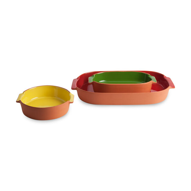 Terracotta Bakeware - Red in color Red