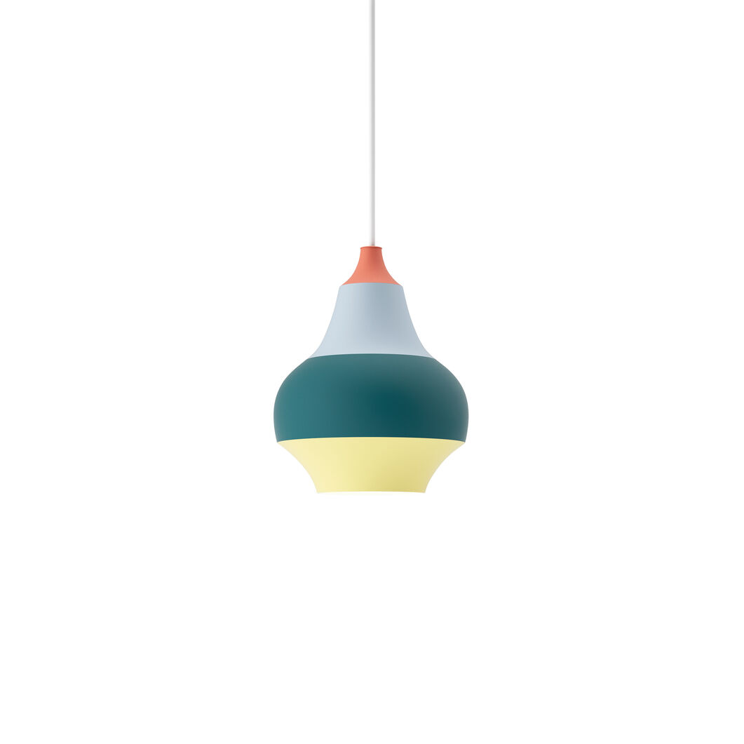 Cirque Pendant Lamp in color Red