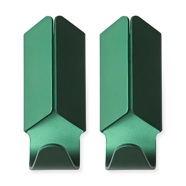 HAY Volet Hook Set of 2 in color Green