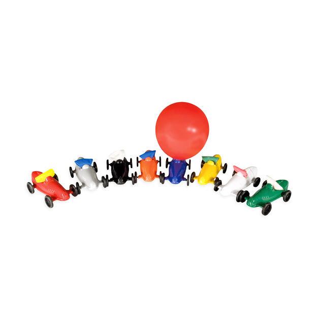 Balloon Racer in color