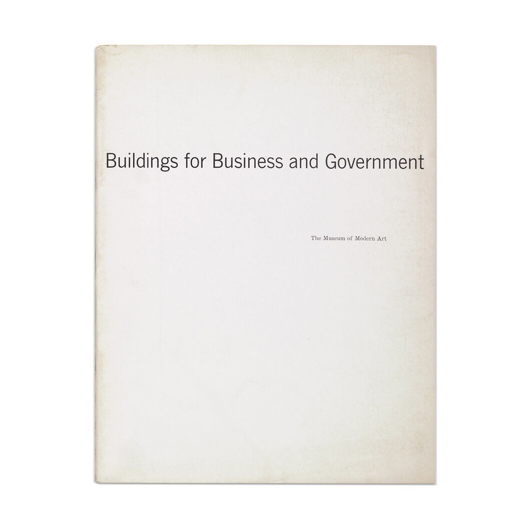 Buildings for Business and Government - Paperback in color