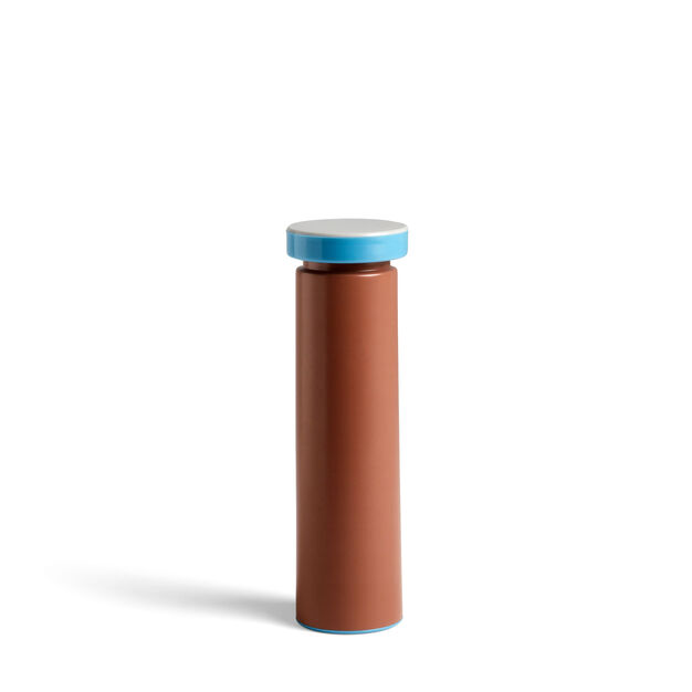 HAY Sowden Salt & Pepper Grinders in color Terracotta